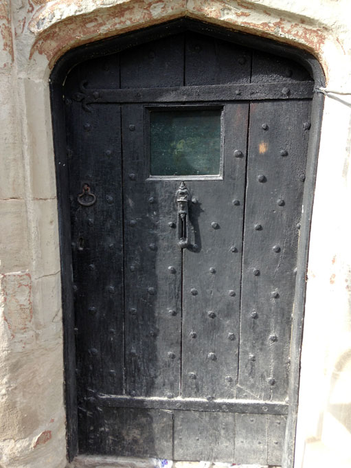 Grade II Listed Door Sandblasting Restoration
