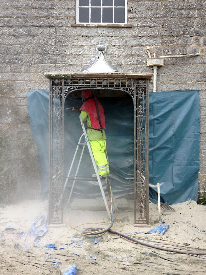 Metal Sandblasting Alberny Restorations Ltd.