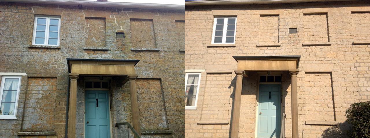 Masonry Soft Blasting Alberny Restorations Ltd.