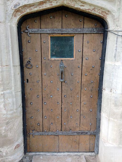 Grade II Listed Door Restoration Blast Cleaning
